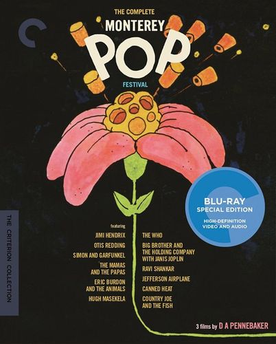 The Complete Monterey Festival [Criterion Collection] [Blu-ray] 33526225