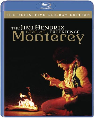 The Jimi Hendrix Experience: Live at Monterey [Blu-ray] [2007] 33537773