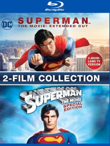 Superman the Movie: Extended Cut and Special Edition - 2-Film Collection [Blu-ray] [1978] 33539149