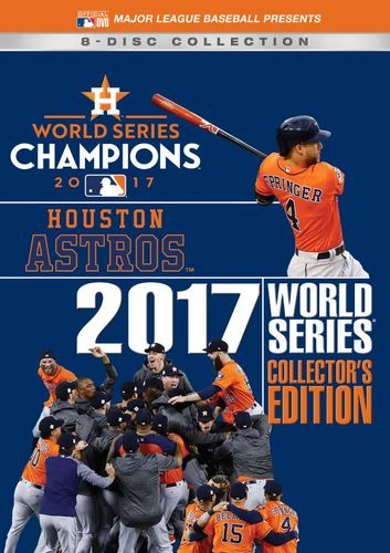 2017 World Series Champions: Houston Astros - Collector's Edition [8 Discs] [DVD] [2017] 33548146