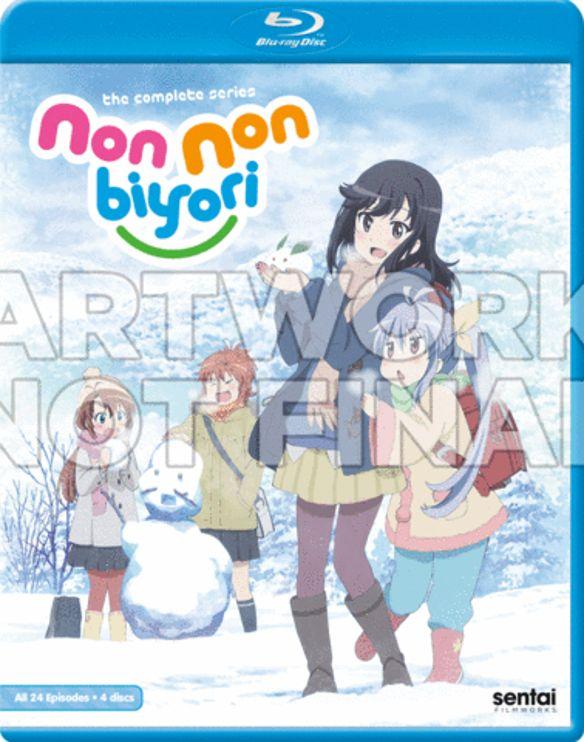 Non Non Biyori: The Complete Series [Blu-ray] [4 Discs] 33610242