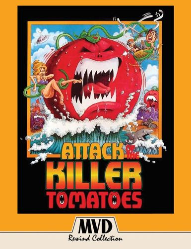 Attack of the Killer Tomatoes [Blu-ray/DVD] [2 Discs] [1978] 33640675