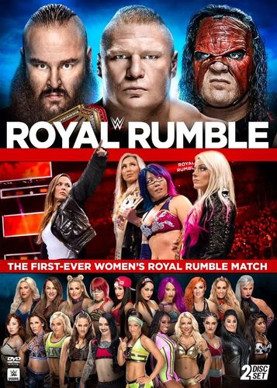WWE: Royal Rumble 2018 [DVD] 33698152