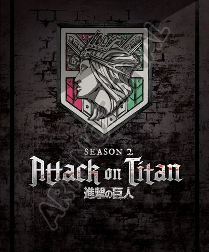 Attack on Titan: Season Two [Blu-ray] 33747118