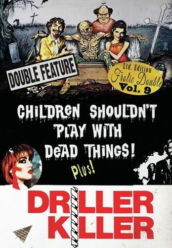 Children Shouldn't Play with Dead Things/Driller Killer [DVD] 33750401