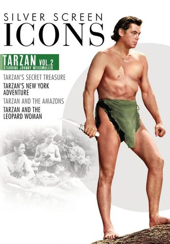 TCM Greatest Classic Films Collection: Johnny Weissmuller as Tarzan, Vol. 2 [DVD] 33784338