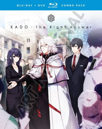 Kado: The Right Answer: The Complete Series [Blu-ray] 33795913