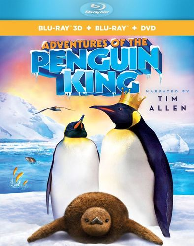 Image of Adventures of the Penguin King [3 Discs] [3D] [Blu-ray/DVD] [Blu-ray/Blu-ray 3D/DVD] [2013]
