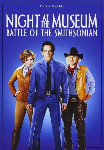Night at the Museum: Battle of the Smithsonian [DVD] [2009] 33813379