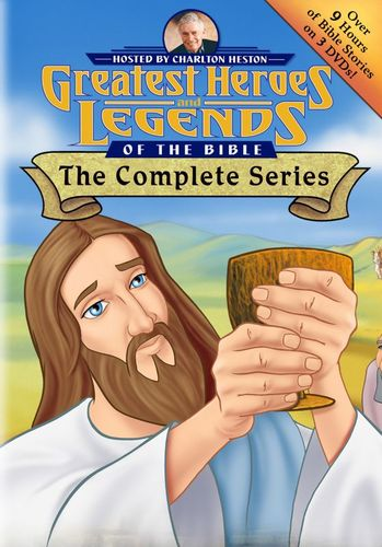 Greatest Heroes and Legends of the Bible: The Complete Series [DVD] 33814062