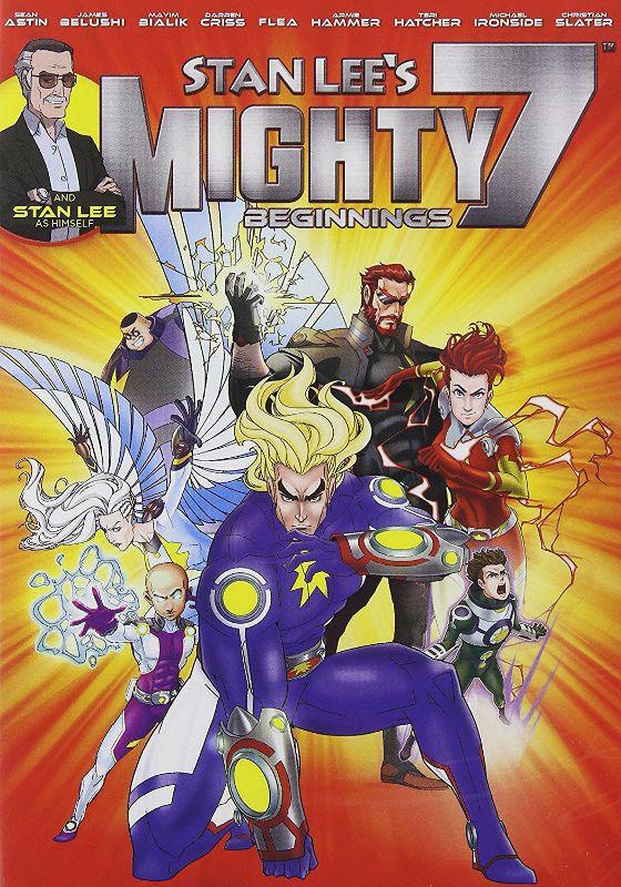 Stan Lee's Mighty 7: Beginnings [Blu-ray] [2014] 33843698