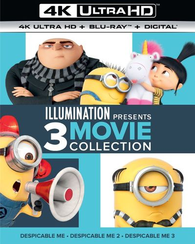 Illumination Presents: 3-Movie Collection [4K Ultra HD Blu-ray/Blu-ray] 33844147