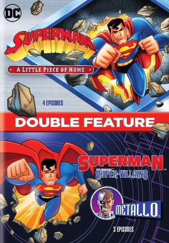 Superman: A Little Piece of Home/Superman Super Villains: Metallo [DVD] 33852715