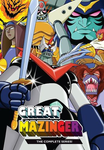 Great Mazinger: The Complete Series [DVD] 33859465