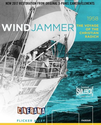 Windjammer: The Voyage of the Christian Radich [Blu-ray] [1958] 33874287