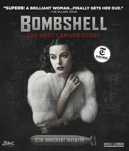 Bombshell: The Hedy Lamar Story [Blu-ray] [2017] 33894181