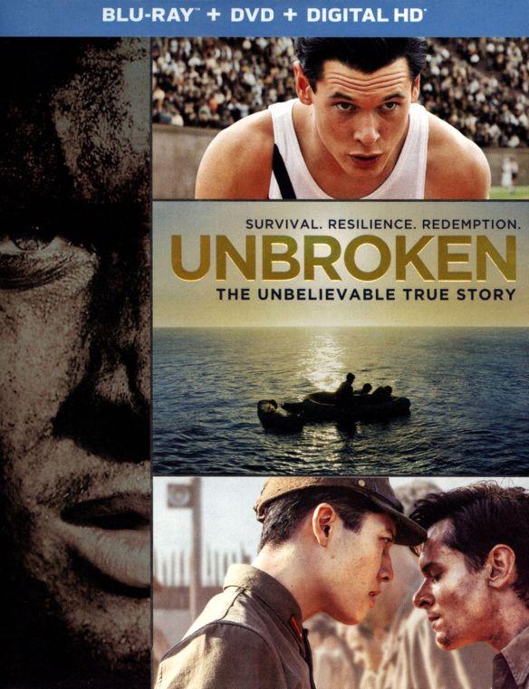 Unbroken [2 Discs] [Includes Digital Copy] [UltraViolet] [Blu-ray/DVD] [2014] 3391068
