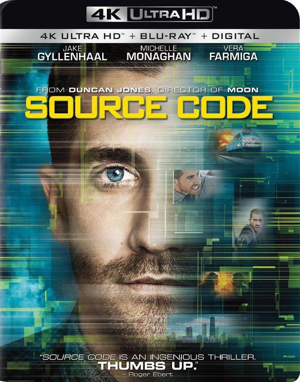 Source Code [Includes Digital Copy] [4K Ultra HD Blu-ray/Blu-ray] [2011] 33917146