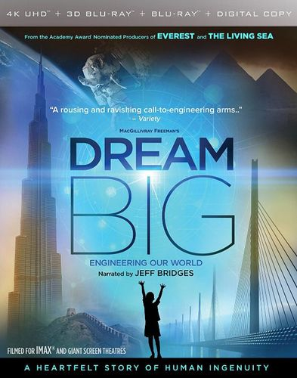 Dream Big: Engineering Our World [3D] [4K Ultra HD Blu-ray/Blu-ray] [4K Ultra HD Blu-ray/Blu-ray/Blu-ray 3D] [2017] 33972146