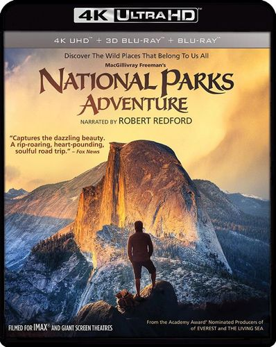National Parks Adventure [3D] [4K Ultra HD Blu-ray/Blu-ray] [4K Ultra HD Blu-ray/Blu-ray/Blu-ray 3D] [2016] 33972155