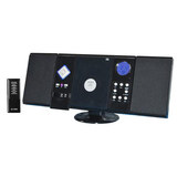 Jensen Wall-Mountable CD System Black JMC-180
