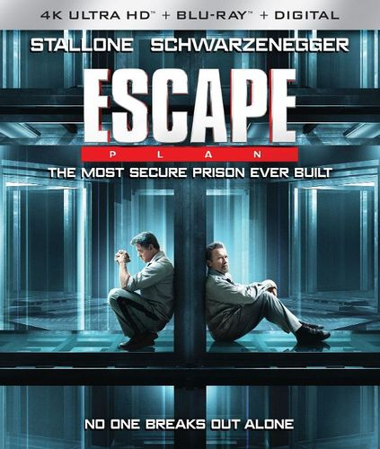 Escape Plan [4K Ultra HD Blu-ray/Blu-ray] [2013] 33985143