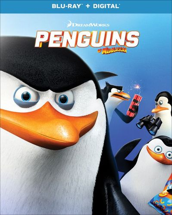 Penguins of Madagascar [Blu-ray] [2014] 34004157