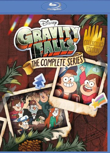 Gravity Falls: The Complete Series [Blu-ray] 34016325