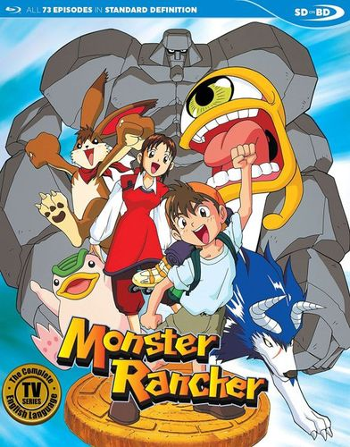 Monster Rancher: The Complete TV Series [Blu-ray] 34023991