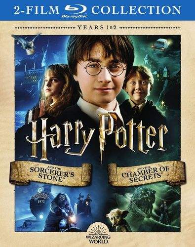 Harry Potter and the Sorcerer Stone/Harry Potter and the Chamber of Secrets [Blu-ray] 34068488