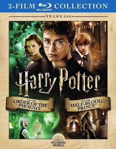 Harry Potter and the Order of Phoenix/Harry Potter and the Half Blood Prince [Blu-ray] 34068531