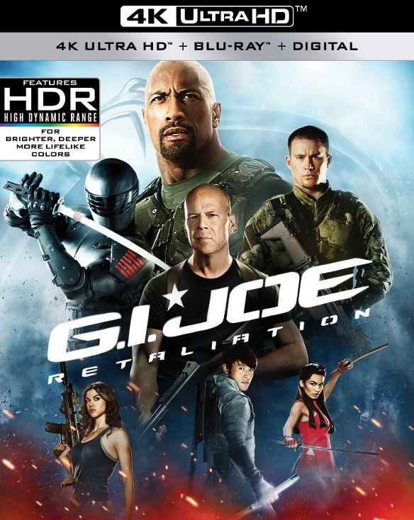 G.I. Joe: Retaliation [4K Ultra HD Blu-ray/Blu-ray] [2013] 34082141