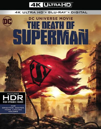 The Death of Superman [4K Ultra HD Blu-ray/Blu-ray] [2018] 34103166