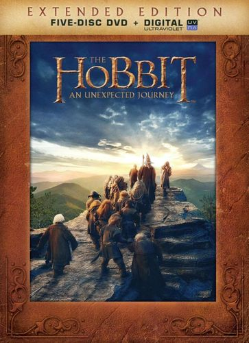 The Hobbit: An Unexpected Journey [Extended Edition] [5 Discs] [DVD] [2012] 3411104