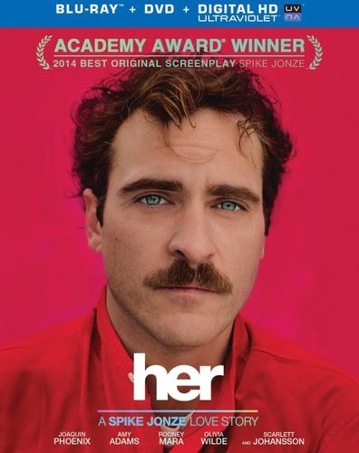 Her [2 Discs] [Includes Digital Copy] [UltraViolet] [Blu-ray/DVD] [2013] 3411113