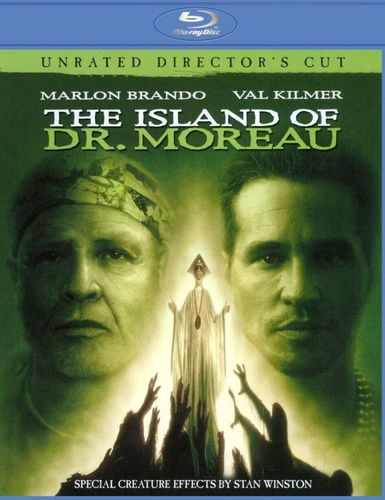 The Island of Dr. Moreau [Unrated] [Blu-ray] [1996] 3414023