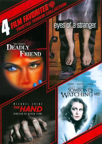 Twisted Terror Collection: 4 Film Favorites [4 Discs] [DVD] 3414041