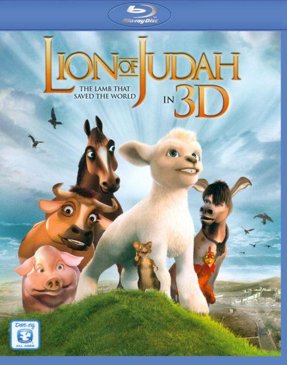 The Lion of Judah [3D] [Blu-ray] [Blu-ray/Blu-ray 3D] [2011] 3414129