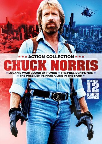 15-Film Action Pack Featuring Chuck Norris [DVD]