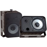 Pyle PylePro 2-way Indoor/Outdoor Speaker Pack of 2 PDWR50B