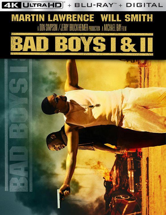 Bad Boys I & II [Includes Digital Copy] [4K Ultra HD Blu-ray/Blu-ray] 34194148