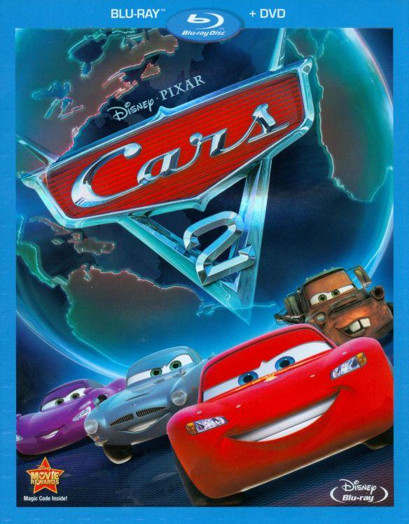 Cars 2 [2 Discs] [Blu-ray/DVD] [2011] 3439081