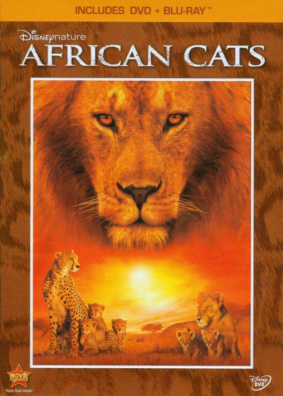 Disneynature: African Cats [2 Discs] [DVD/Blu-ray] [Blu-ray/DVD] [2011] 3439142
