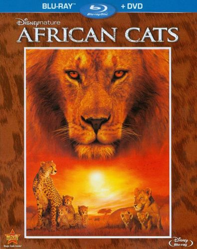 Disneynature: African Cats [2 Discs] [Blu-ray/DVD] [2011] 3439151