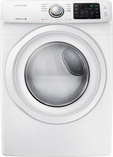 Samsung - 7.5 Cu. Ft. 9-Cycle Electric Dryer - White