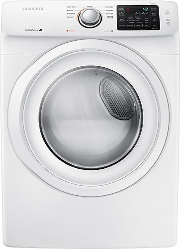 Samsung 7.5 cu. ft. Gas Dryer in White