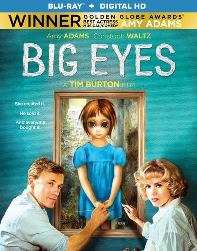 Big Eyes [Includes Digital Copy] [UltraViolet] [Blu-ray] [2014] 3469023