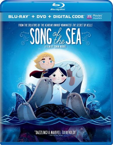 Song of the Sea [2 Discs] [Includes Digital Copy] [UltraViolet] [Blu-ray/DVD] [2014] 3472048