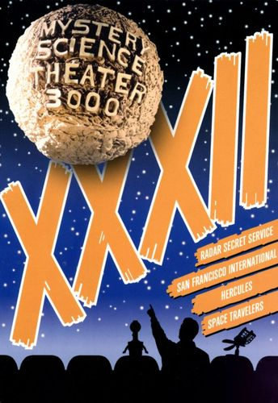 Mystery Science Theater 3000: XXXII [4 Discs] [Blu-ray] [DVD] 3472117