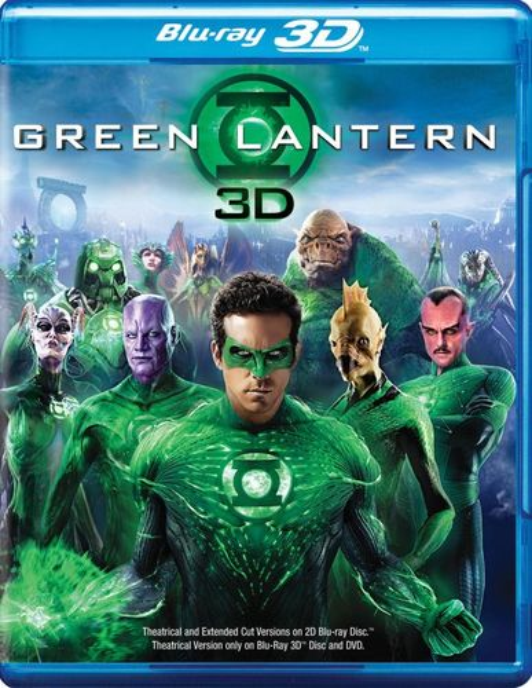 Green Lantern [Extended Cut] [3 Discs] [Includes Digital Copy] [3D] [Blu-ray/DVD] [UltraViolet] [Blu-ray/Blu-ray 3D/DVD] [2011]